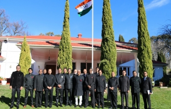 72nd Independence Day celebration at India House, Canberra