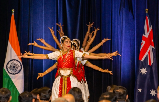 Performance held during Indian Community Reception on 21-11-18