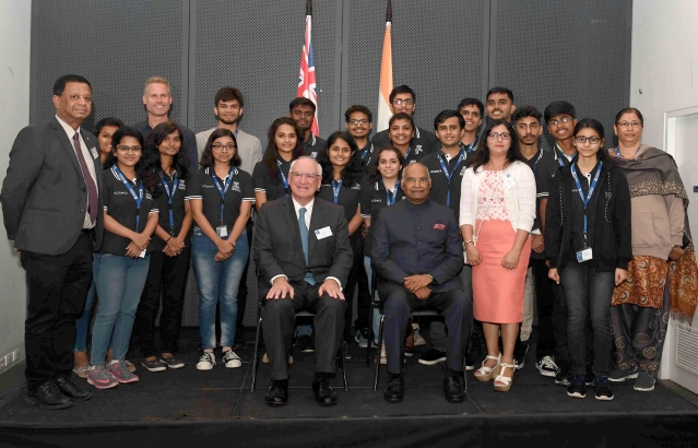 Hon. President at Sidney Myer Asia Centre, University of Melbourne at Melbourne on 23-11-18
