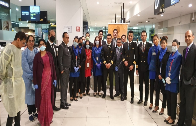 Vande Bharat Mission 7th special flight from Australia, AI 0309 to Hyderabad