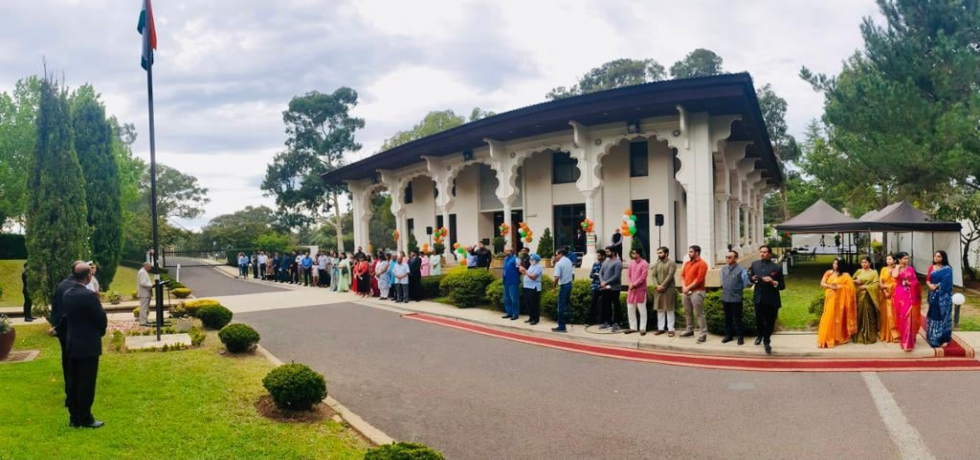 72nd Republic Day celebrations at HCI, Canberra